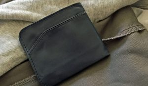 This is the wallet, post-wash. Yeah, they built it tough.
