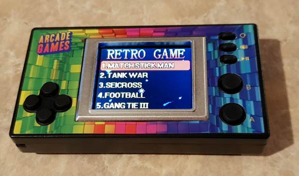 Flea Market Micro Handheld Arcade Game Review