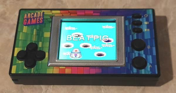 Flea Market Micro Handheld Arcade Game