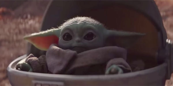 Take away Baby Yoda's ears, and it's basically just a sentient avocado.