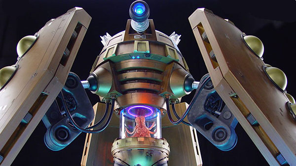 The Emperor Dalek is an impressive build, if a bit massively impractical. Mind you, he'd make great calamari.