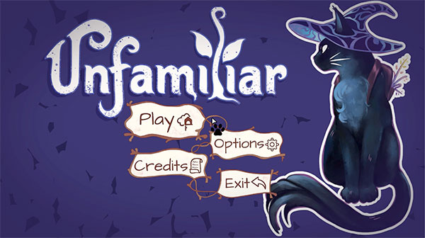 Unfamiliar: A relaxing game for magical cat people
