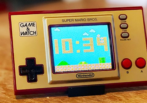 super mario bros game & watch