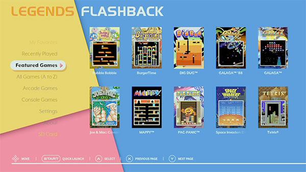 AT Games Legends Flashback