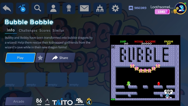 You can't call your retro game library complete without Bubble Bobble. That's just science.
