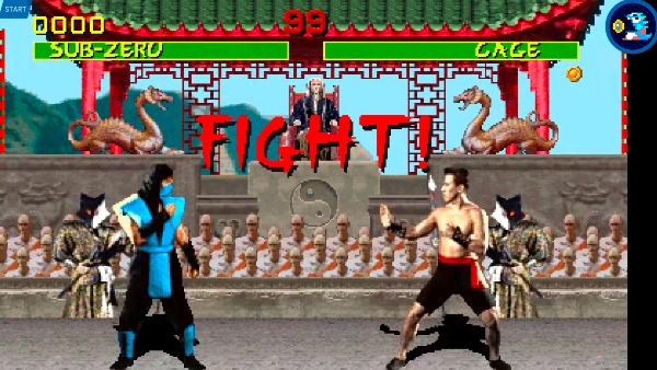 Without motion, Mortal Kombat looks fine. When it starts moving, however...