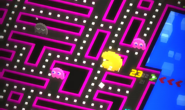Wacky powerups are nice, but the name of the game is scoring big points.