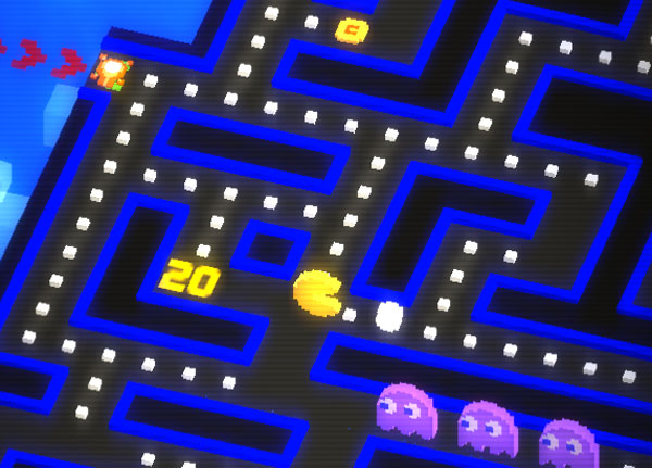 Pac-Man with frikkin' laser beams coming out of his head is cool and all -- but the classic power pellet is still his drug of choice.