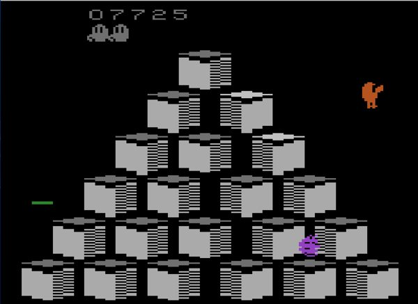 Q*Bert has every tool he needs to survive and thrive. If he dies, IT'S YOUR FAULT. No pressure.